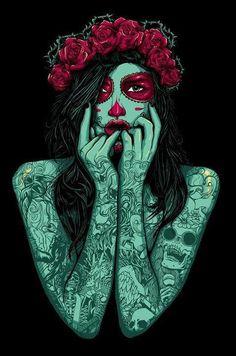 santa muerte | Tumblr
