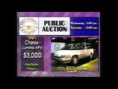 We've been printing and manufacturing marketing materials for auto auctions all around the country for decades! This commercial brings back the memories. Vintage Television, Marketing Materials, Used Cars, Chevy, Antique Cars, Commercial, Chicago, Auction, Printing