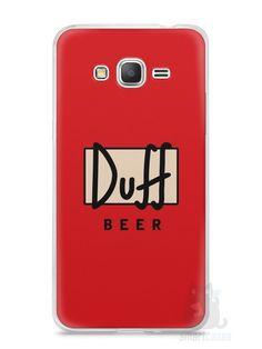 Capa Samsung Gran Prime Cerveja Duff - SmartCases - Acessórios para celulares e tablets :)