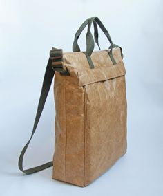 """Tyvek Paper Messenger Bag   Get Etsy coupon codes from the Board """"My Bags and Purses"""""""