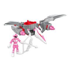 Power Rangers Pink Ranger & Pterodactyl Zord