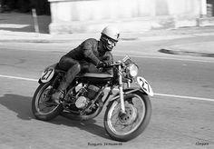24H. 1966 José Maria Busquets-(Francesco Villa). Montesa 250 Foto: Joan Segura