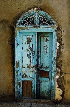 enchantingly derelict doorway