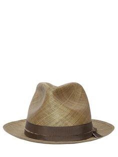 a90c41cfc SOMBRERO DE PAJA TEJIDA Sombreros De Paja