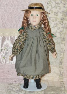 Anne of Green Gables Authentic Vinyl Doll Yvonne Richardson - 107 by WildroseHeaven on Etsy Antique Dolls, Vintage Dolls, Vinyl Dolls, Anne Of Green Gables, All Things, Harajuku, Flower Girl Dresses, Buy And Sell, Wedding Dresses