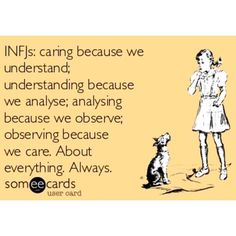 "Care about everything, 20 curtidas, 2 comentários - ⠀⠀⠀⠀⠀⠀⠀⠀ Roaring My Truth ⚜ (@royalenergyofthesun) no Instagram: ""#INFJ #infjproblems"""