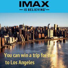 IMAX: win a 2-night trip to New York