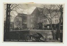 Utrecht, Oude Gracht, Achterzijde Postkantoor
