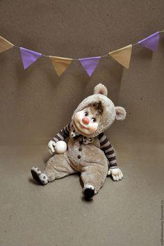 Купить Мишаня,Алиса,Сема - комбинированный, подарок, подарок девушке, кукла, красивый подарок