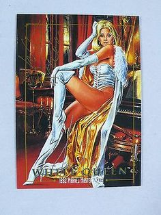 #Marvel #masterpieces 1992 #white queen card 95 signed by joe jusko,  View more on the LINK: http://www.zeppy.io/product/gb/2/201454918100/