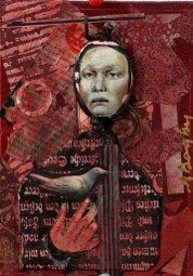 Anne Bagby's collage figures give me all sorts of ideas. I always like the medieval, gothic grunge type theme.