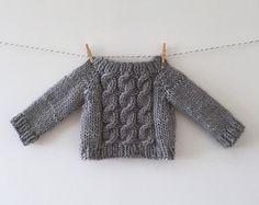 luckyjuju hand knit heirloom sweater - long sleeves