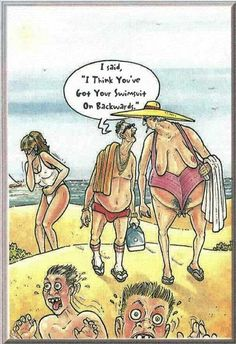 Summer funny  .... haa this scares me :)  I have had it inside out already !