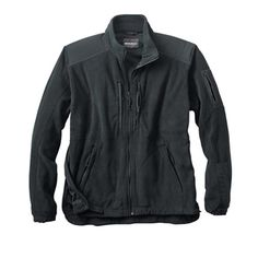 Mens Woolrich Elite Fleece Tactical Jacket