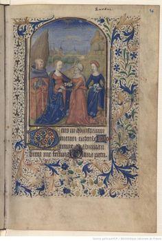 Horae ad usum Romanum Date d'édition : 1460-1470