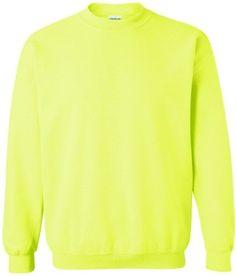 Gildan Heavy Blend Crewneck Sweatshirt. 18000, Men's, Size: XXXXX-Large, Green