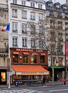 Rita Crane Photography:  Paris / Historic cafe / brasserie / bistro / restaurant / Latin Quarter / Left Bank / Brasserie Lipp, Paris
