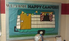 Dizzy in the Noodle: My camping-themed classroom
