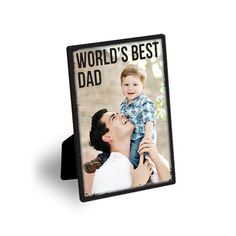 Personalize this great easel art with your own picture!  #FathersDay  Treat.com