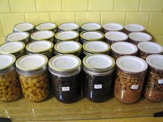 No prep canning of dry beans. Pour 1/2 cup of dry beans into your hot pint jars and top off with boiling water to 1 inch headspace, then process.