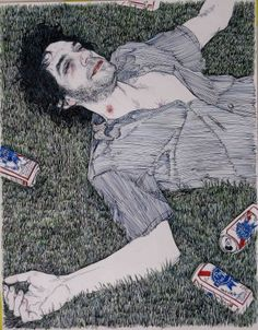 Hope Gangloff Illustrator/Fine art figurative work reminds me of egon schieles work