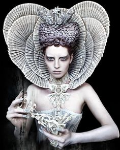 """The White Queen"" Kirsty Mitchell's Wonderland Series: Inspired by the fairytales her late mother used to tell her before she passed, the series wasn't actually shot in exotic locations. In fact, some of the photos took months of planning to get right."