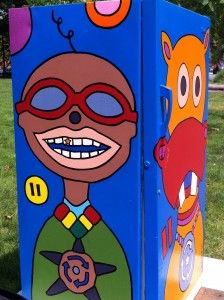 Kids did it! Public Arts Scavenger Hunt Providence