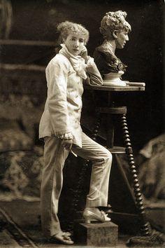Achille Melandri - Sarah Bernhardt, 1879