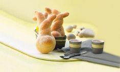Dinkel-Häschen Rezept: Quark-Öl-Teig Häschen mit Zimt-Zucker - Eins von 7.000 leckeren, gelingsicheren Rezepten von Dr. Oetker!