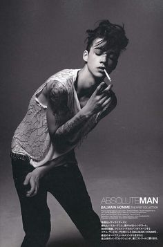 Ash Stymest, and his awesome hair.