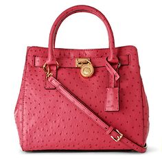 MICHAEL MICHAEL KORS Hamilton leather tote  - I think I've pinned this before but I don't care. So cute.