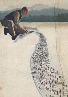 Crisis: recortes, ilustración de CARO-MA