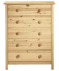 Before ,Plain pine chest to be painted in Annie Sloan Provence Pine Chests, Trunks And Chests, 5 Drawer Chest, Chest Of Drawers, Annie Sloan Chalk Paint Provence, Used Stuff For Sale, Stuff To Buy, Dress Up Wardrobe, Furniture Update