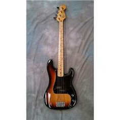 VINTAGE 1979 FENDER PRECISION BASS SUNBURST WC