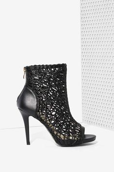 What Tangled Webs Ankle Bootie | Nasty Gal!