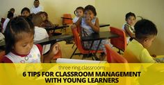 Three Ring Classroom: 6 Tips for Classroom Management with Young Learners