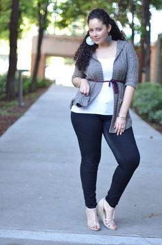 Girl With Curves - Dressing Up Comfy