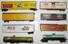 Vintage Graveyard Lot of 8 HO Scale Trains Tyco Advertising Old Dutch Hersheys | eBay