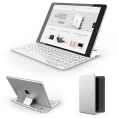 Anker | Bluetooth Ultra-Slim Keyboard Cover for iPad Air 2