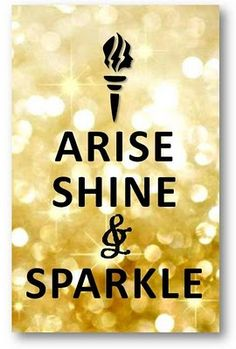 """girls camp rise shine sparkle lds 
