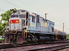 Louisville & Nashville Railroad, Alco C430 diesel-electric locomotive in Corbin, Kentucky, USA