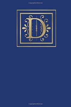 Ruled Monogram Journal D
