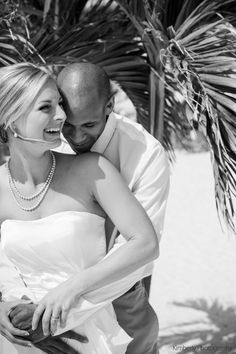 Beach wedding at the Grand Plaza on St Pete Beach Photo By Kimberly Photography