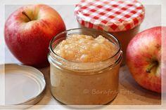 Barafras Kochlöffel: Es duftet nach Bratapfel oder: Es weihnachtet im Glas (Bratapfelmus im Glas - Apfelmus-Variante weihnachtlich)