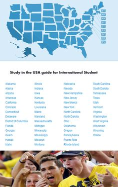Study in the USA guide for International Student