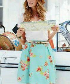 ~NWT~ Matilda Jane Hello Lovely 'Natural Beauty Skirt' Size XL Extra-Large NEW #MatildaJane #skirt