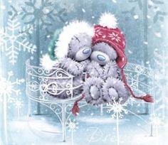 Me to You & Tatty Teddy Christmas Cards Christmas Scenes, Christmas Makes, Christmas Photos, All Things Christmas, Christmas Time, Christmas Crafts, Merry Christmas, Tatty Teddy, Teddy Bear Pictures
