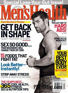 men's health current cover