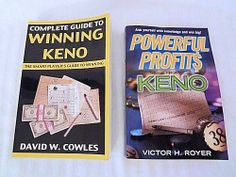 Keno Gambling Book Powerful Profits From Keno Royer Guide To Winning Keno Cowles.  $45.95 Ebay Listing, Games, Books, Life, Libros, Book, Gaming, Toys, Book Illustrations