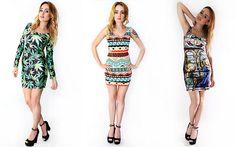 Sukienki w modnych wzorach, prosto od blogerk. #mokujin #clothing #fashion #moda #sukienki #dress #sukienkazmarihuaną #marihuana #marihuanadress #maffashion #azteckiewzory #fullprint #print #motywreligijny #sukienkawmotywreligijny